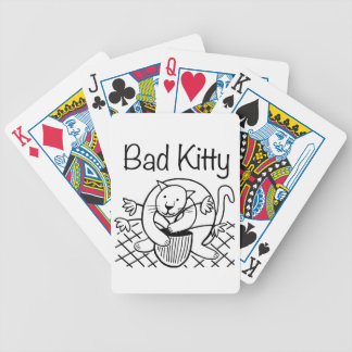 Bad Kitty 2 Bicycle Playing Cards