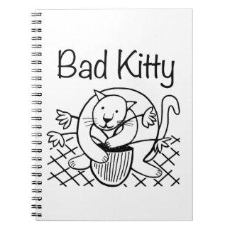 Bad Kitty 2 Spiral Notebook