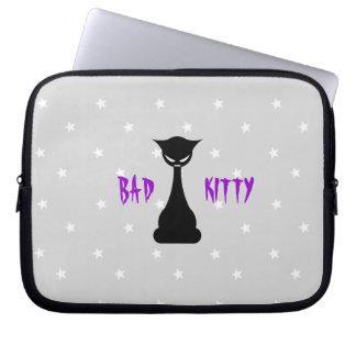 Bad Kitty Laptop Sleeve