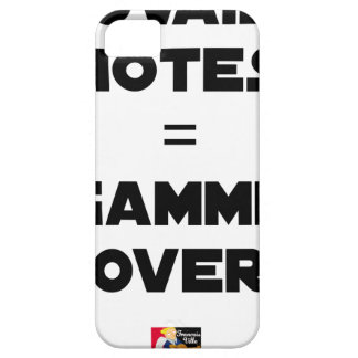 BAD MARKS = RANGE OVER - Word games iPhone 5 Cover
