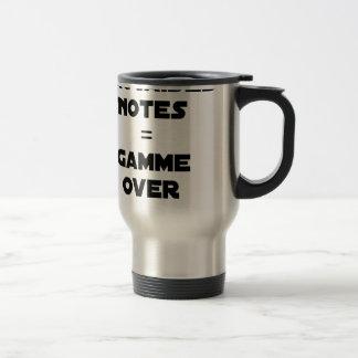 BAD MARKS = RANGE OVER - Word games Travel Mug