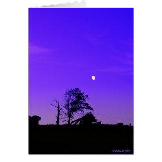 Bad Moon Rising Card