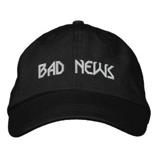BAD NEWS logo hat