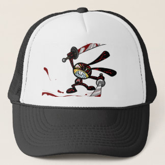 Bad Ninja Bunny Trucker Hat