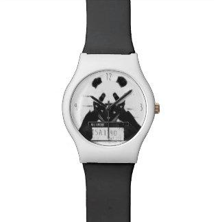 Bad panda wristwatch