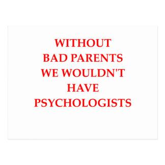 bad parents postcard