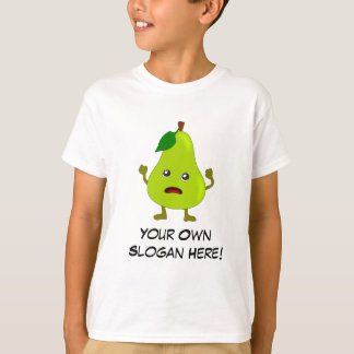 Bad Pear with Customizable Slogan T-Shirt