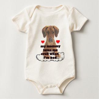 bad puppy baby bodysuit
