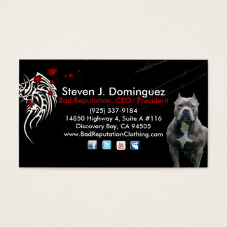 Bad Reputation CEO/ President Business Cards