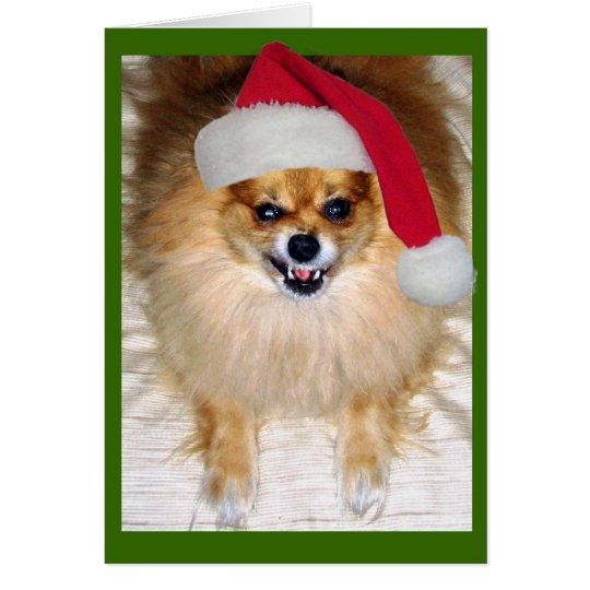 Bad Santa Christmas Card