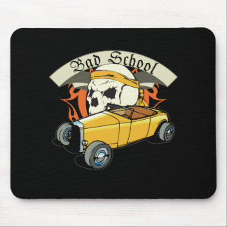 Bad School Hotrod Mouse Pad