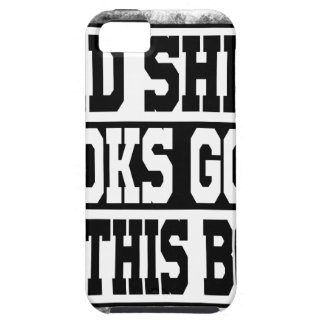 Bad shirt looks good on this body case for the iPhone 5