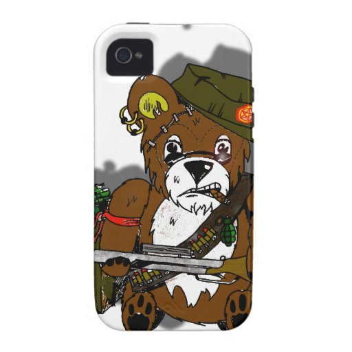 Bad Teddy Case-Mate iPhone 4 Covers