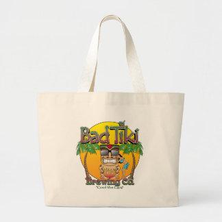 Bad Tiki Brewing Company Jumbo Tote Bag