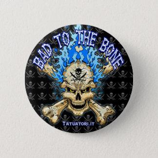 Bad to the Bone 2 Inch Round Button