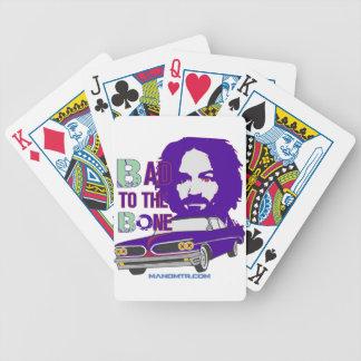 bad to the bone 2 poker deck