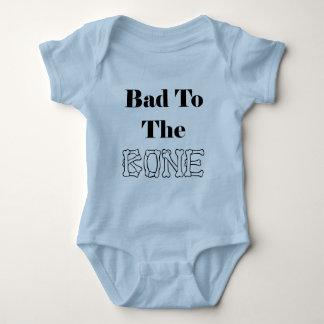 Bad to the Bone Baby Bodysuit