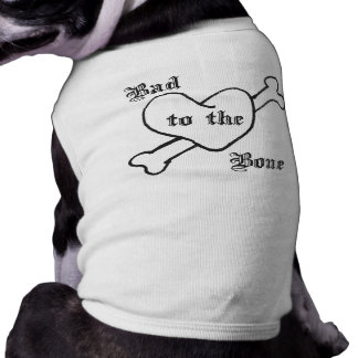 Bad to the Bone Doggie Tee