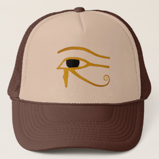 bad to the bone Egyptian eye of horus shirt Trucker Hat