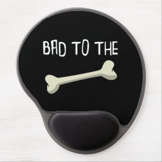 Bad To The Bone Gel Mouse Pad