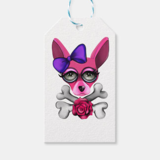 Bad To The Bone Girl Gift Tags