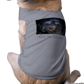 Bad to the Bone Havanese Dog Tee