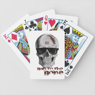 Bad To The Bone Poker Deck