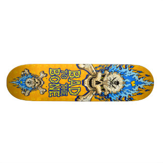 Bad to the Bone Skull Skateboards
