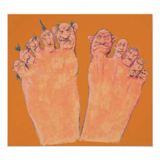 Bad Toes Poster