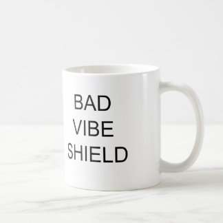 BAD VIBE SHIELD MUG