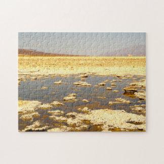 Bad Water Salt Pan. Nevada. Jigsaw Puzzle