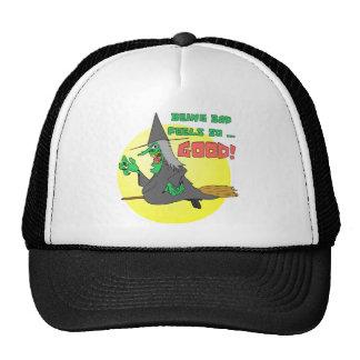 Bad Witch Feels Good Trucker Hat