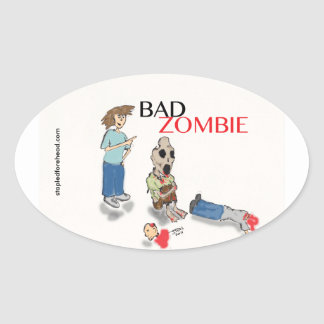 Bad Zombie Sticker