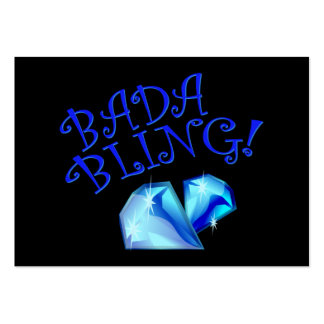 Bada Bling Large Business Card