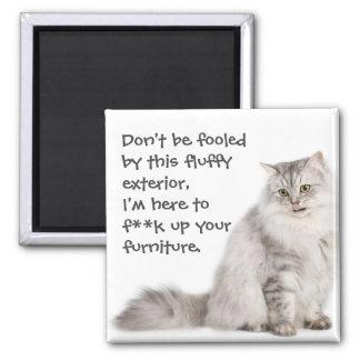 Badass Cats Magnet