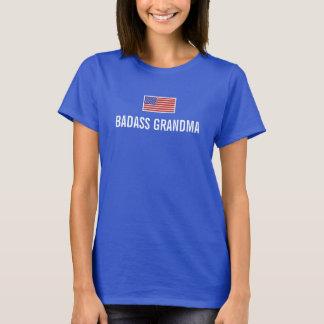 BADASS GRANDMA American Flag T-Shirt