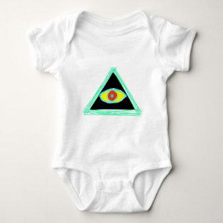 Badass Illuminati Baby Bodysuit