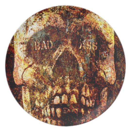 Badass Skull Plate