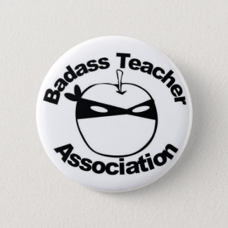 Badass Teacher Association - Ninja Apple pin