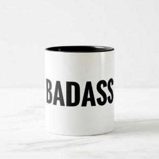 Badass Two-Tone Coffee Mug