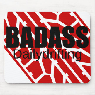 Badass Tyre - Dailydrifting Mouse Pad