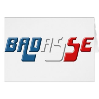 BADASSE FRANCE CARD