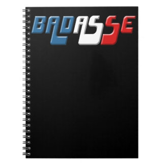 BADASSE FRANCE NOTEBOOKS