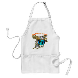Badazz Eagle Death Before Dishonor Standard Apron