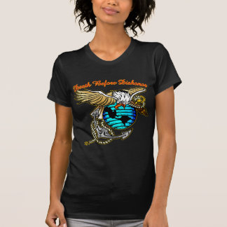 Badazz Eagle Death Before Dishonor T-Shirt