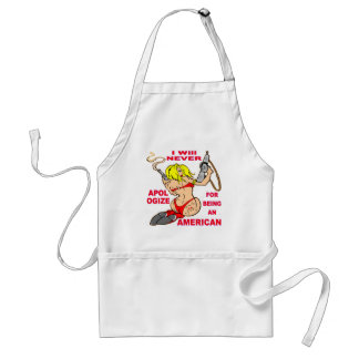 Badazz Girl W Guns Never Apologize For Being Standard Apron