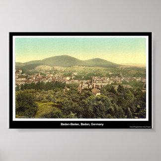 Baden-Baden, Baden, Germany Poster