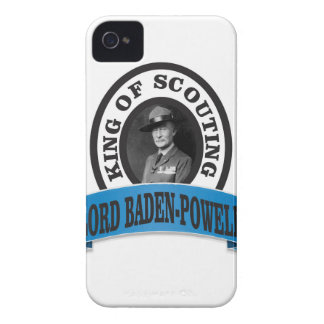 baden powell scouting leader iPhone 4 Case-Mate cases