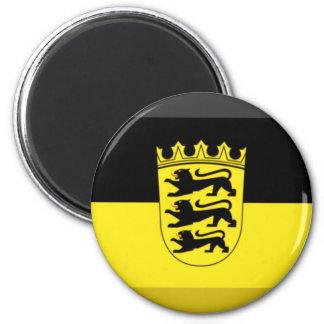 Baden-Wuerttemberg Flag Gem Magnet