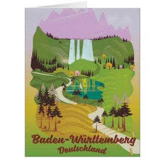Baden-Württemberg deutschland Card